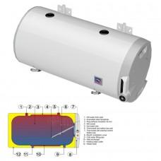 Vandens šildytuvas DRAŽICE OKCV 200 kombinuotas horizontalus