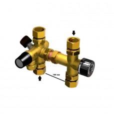 Pajungimo mazgas vandens šildytuvams