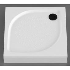 Akmens masės dušo padėklas KK-80, 80x80 cm, kvadratinis