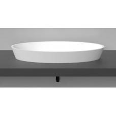 Akmens masės praustuvas Vispool D3 760x370x100mm,baltas