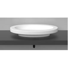 Akmens masės praustuvas Vispool Oval 700x450mm, baltas