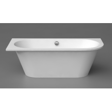 Akmens masės vonia Evento 1750x750mm,su 1 apvalintu kampu dešinėje (Nr.3) ,balta (1001113L)