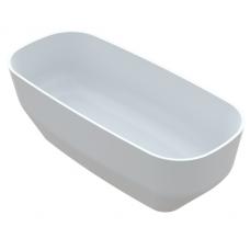 Akmens masės vonia Vayer Serpens 2 164x75 cm, stačiakampė, balta