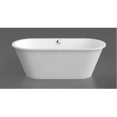 Akmens masės vonia Vispool ACCENT 1670x710 mm, balta
