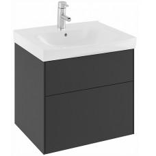 Apatinė spintelė Sense 60x52x46,6 cm, SUS 60, juodas ąžuolas