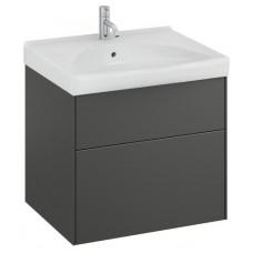 Apatinė spintelė Sense 60x52x46,6 cm, tamsiai pilka