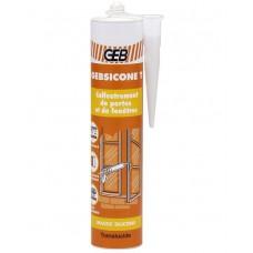 "Bespalvis silikonas ""GEBSICONE W"" 310 ml. (893403)"