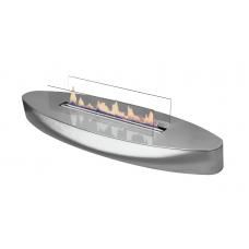 Bio židinys Ebios-fire Elipse Base Mini, chromas