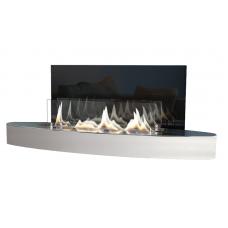 Bio židinys Ebios-fire Elipse Wall, nerūdijančio plieno