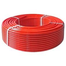 Daugiasluoksnis vamzdis PeX  grindų šildymui d.18x2.0 raudonas, TRITERM, po 240m