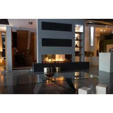 Dujinis židinys GEMINI M, dvipusiu stiklu (884x400)
