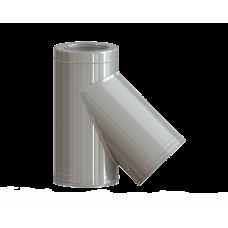 Dvisienis trišakis NPNP (S-0.8mm) 45° d.130/230