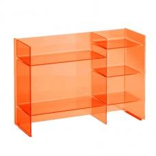 Kartell by LAUFEN Lentynų modulis Sound-rack 530x750x260 mm, spalva oranžinė