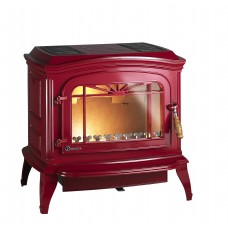 Ketinė krosnelė Invicta BRADFORD, raudono emalio spalva
