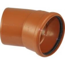 Lauko kanaliz. PVC alkūnė 160/30°